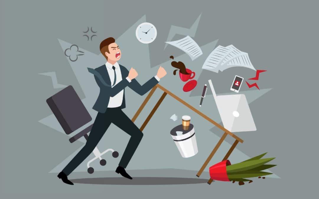 Anhaltender Frust und Kränkungen im Managementjob können zu dauerhaften, krankmachenden Verbitterung führen